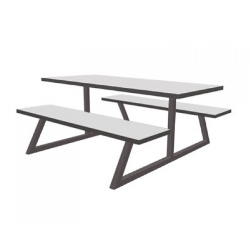 Cool Nova Canteen Table And Seating Unit Ocoug Best Dining Table And Chair Ideas Images Ocougorg